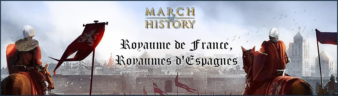 Triple Alliance des Pyrénées, Royaume de France, Royaumes d'Espagnes