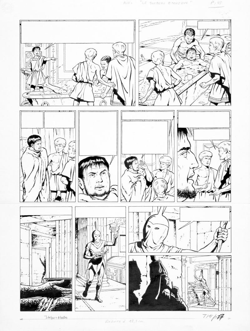 Le tombeau étrusque - Page 2 Alix_t10