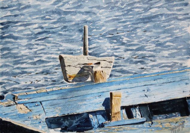 Quadri di barche particolari Scalmo13