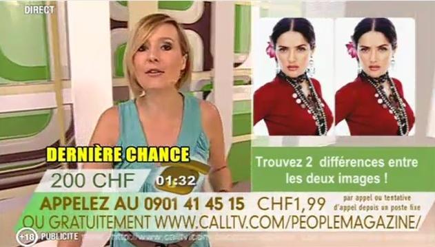 Retour de la CallTV sur TVM3 People10