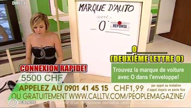 Retour de la CallTV sur TVM3 People13