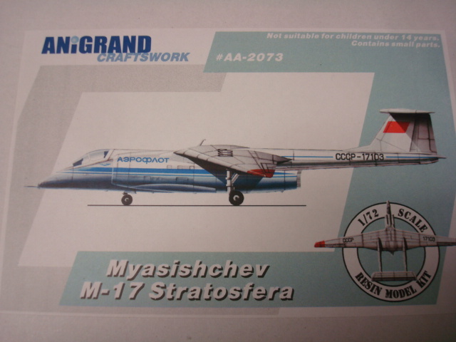 Myasischev M 17 Stratosfera. Dsc01021