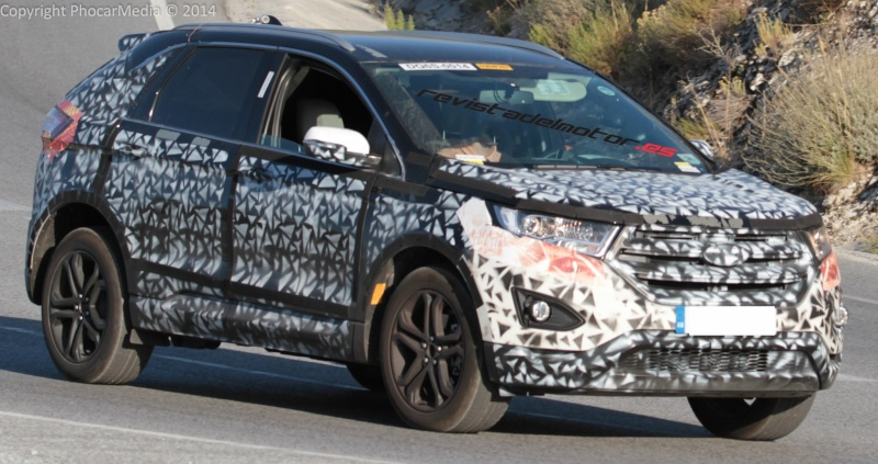 2015 - [Ford] Edge II - Page 3 Protot13
