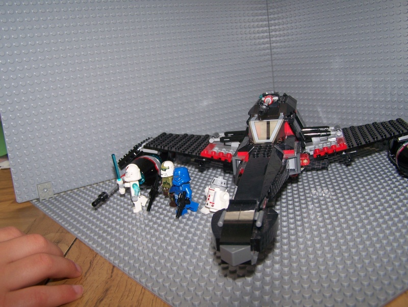 Review of Lego set #75018 Jek 14's Stealth Starfighter 100_4313