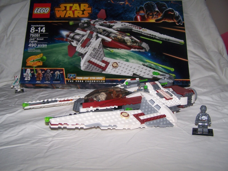 Review of Lego Set #75051 Jedi Scout Fighter 100_4316