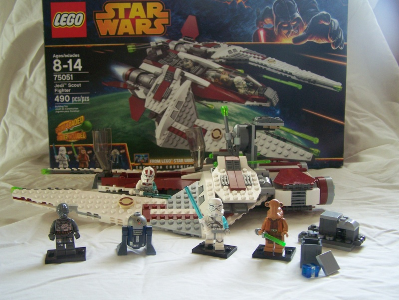 Review of Lego Set #75051 Jedi Scout Fighter 100_4317