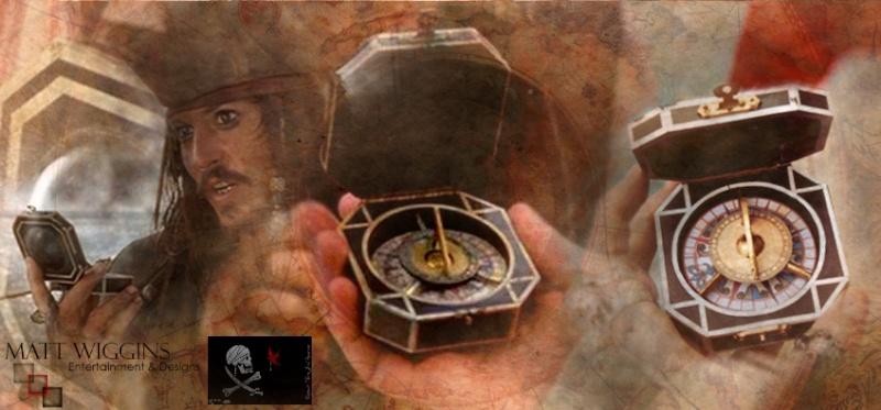 MWE&D Adventures of Captain Jack - Compass Captm202