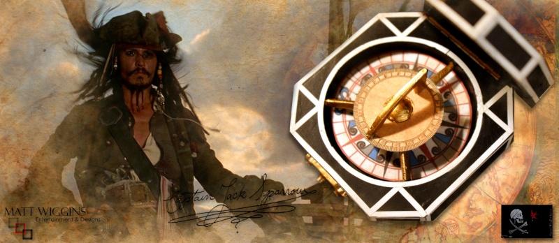 MWE&D Adventures of Captain Jack - Compass Captm228