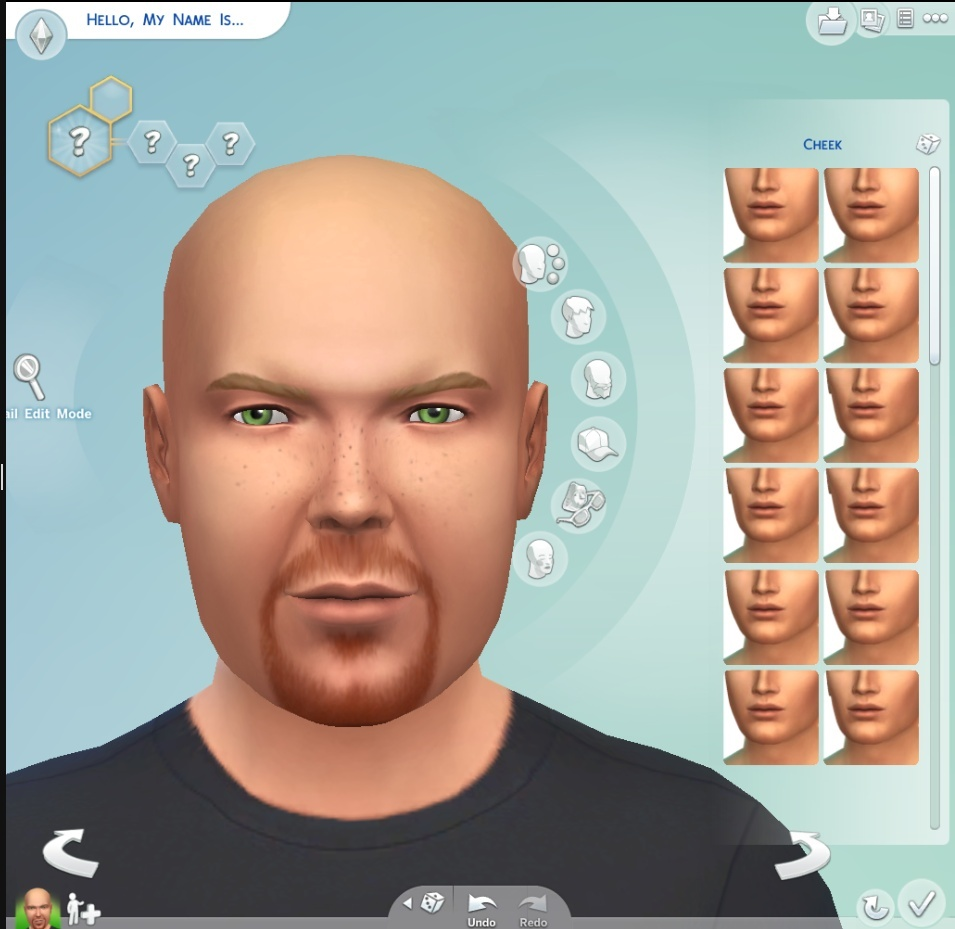 The Sims 4 and the The Sims 4 Create-A-Sim (CAS) Demo Selfsi10