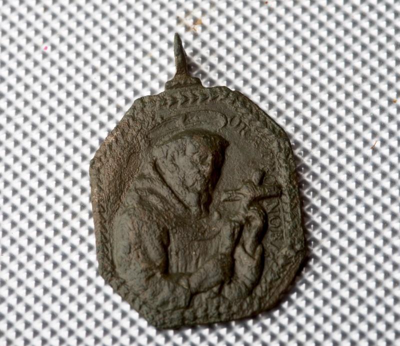 Médaille St-François d'Assise & St-Antoine-de-Padoue - XVIIème Phot0012