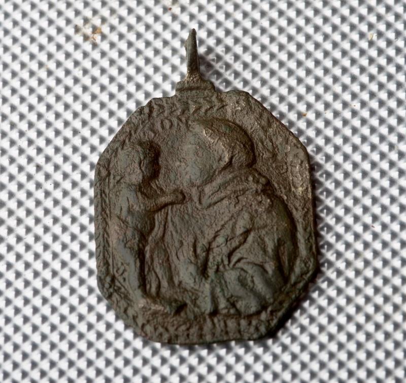 Médaille St-François d'Assise & St-Antoine-de-Padoue - XVIIème Phot0013