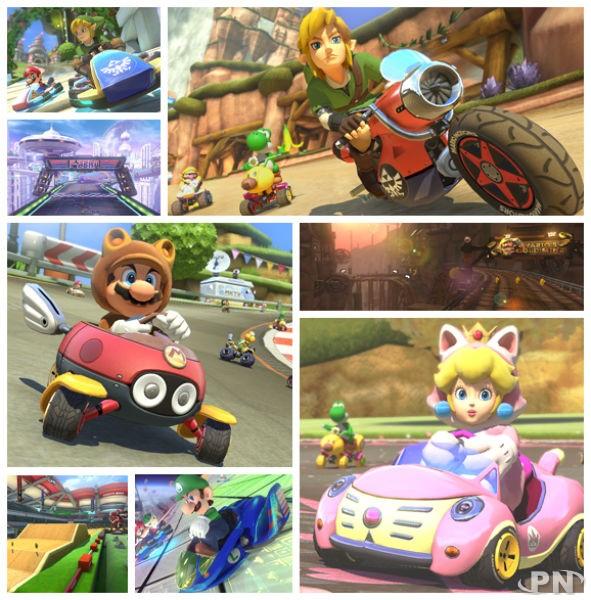 [Mario Kart 8] Zelda , Animal Crossing et F-Zero débarquent ! 53fd0011