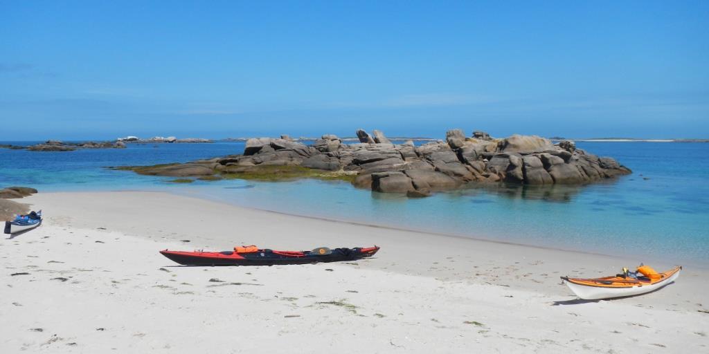 Séjour Rando k-mer en Bretagne / Sea-kayaking Camp in Brittany 9-15 August 2014 Dscn5012