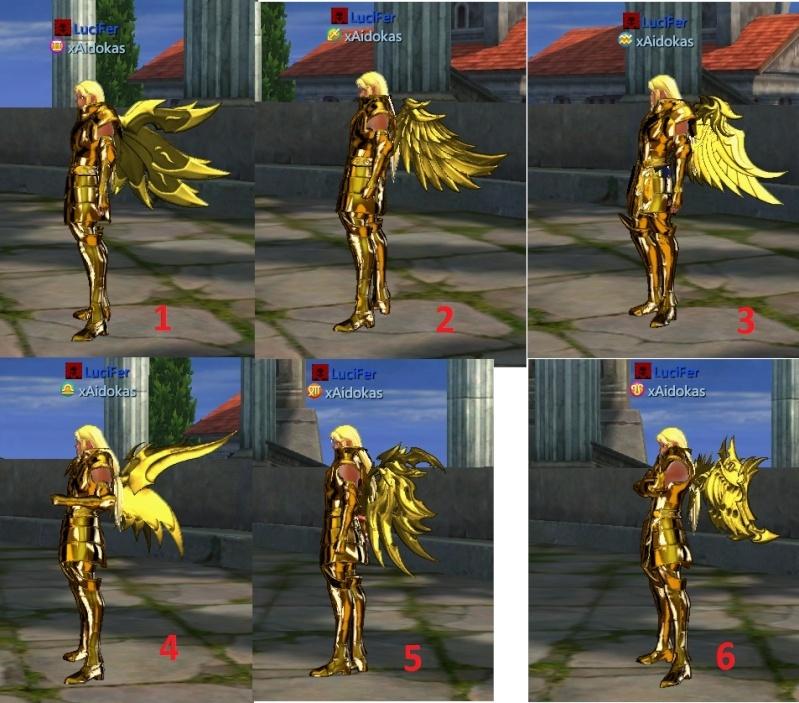 puissances a avoir pour obtenir ces ailes Ailest11