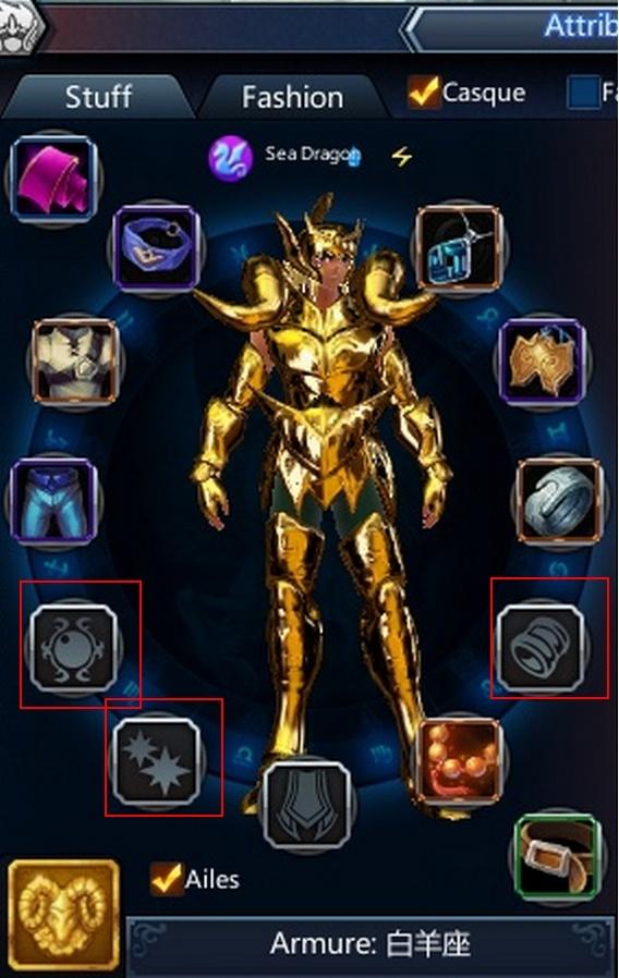 Monter le rang des bijoux Perso111