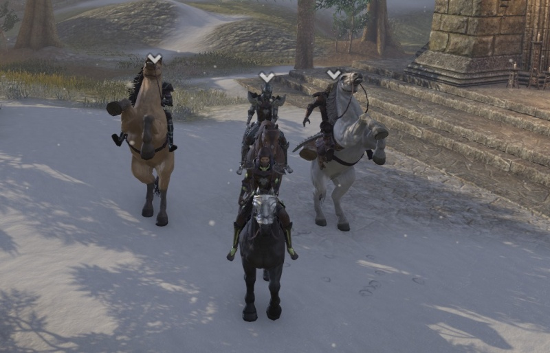 In cyrodil with the pack 3_ride10