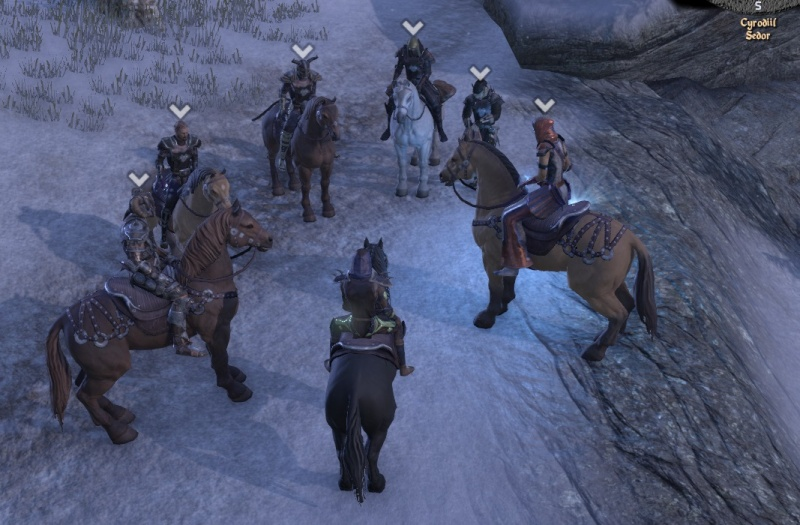 In cyrodil with the pack Rider910