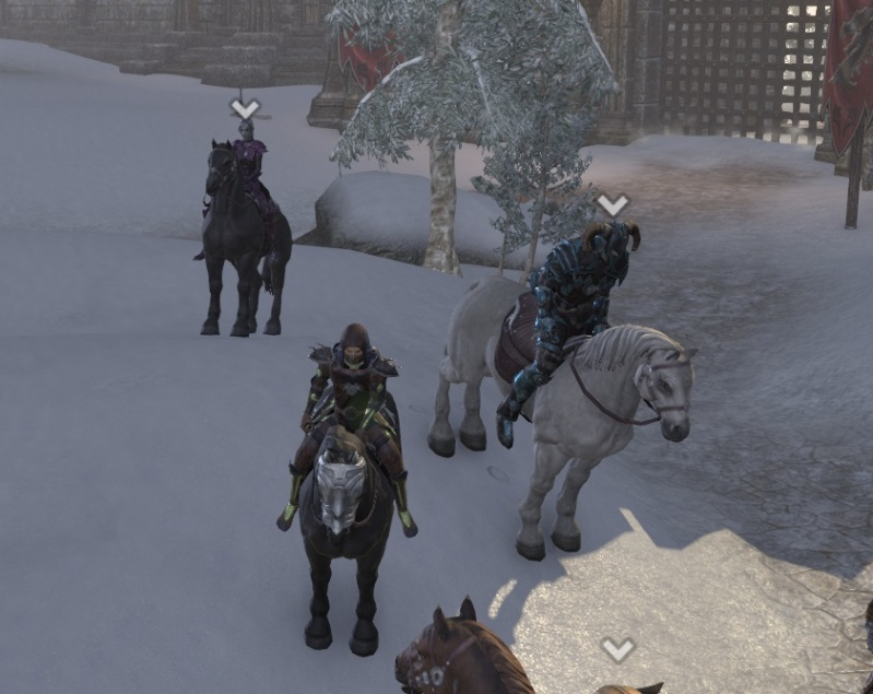In cyrodil with the pack Riders10