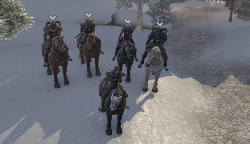 In cyrodil with the pack Riders11