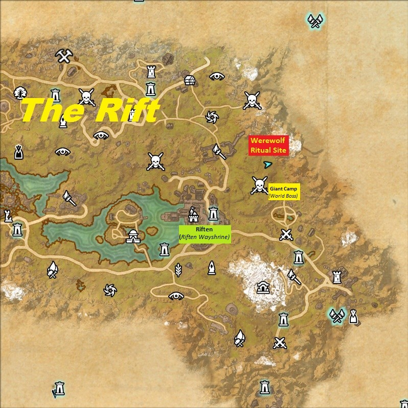 Werewolf Bite Ritual Location in Ebonyheart Pact Screen13