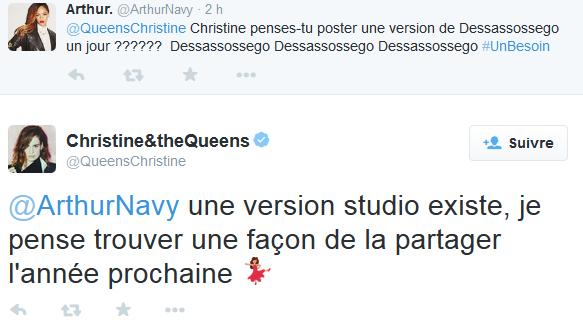 CHRISTINE & THE QUEENS - Queen of Pop. Dd10