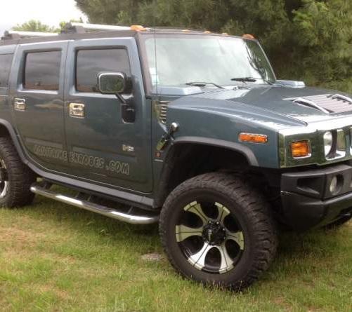 VEND HUMMER H2 luxury série PJ pack chrome VENDU Hummer10