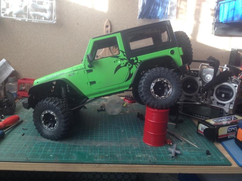 [SCX10]Jeep Rubicon Poison Spyder 01538410