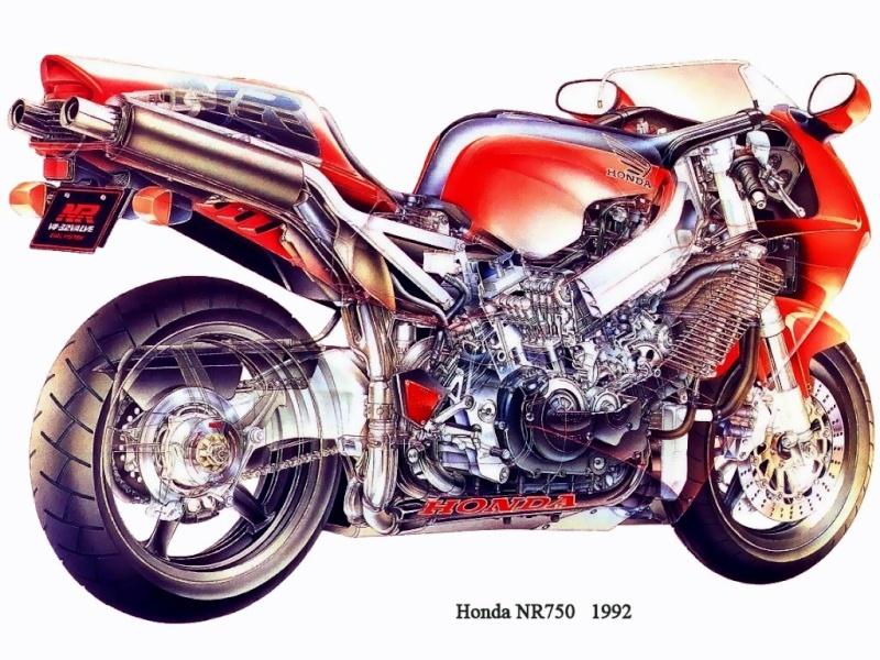 Moto unique Honda-10
