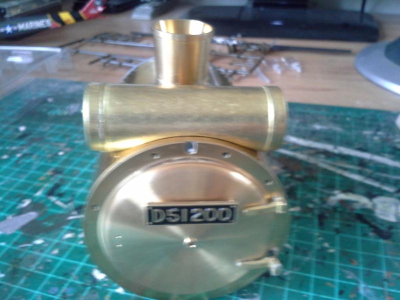 DeAgostini bringt ab sofort die D51 200 Dampflokomotive 1:24 Rauchk12