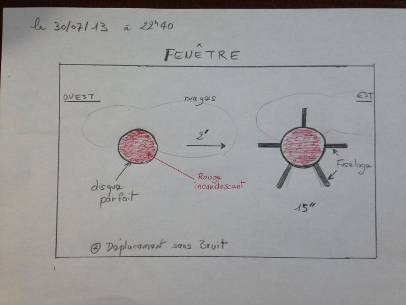 2013: le 30/07 à 22h40 - disque tres rouge puis le vaisseauBoule de feu traversant le ciel - aspach le haut - Haut-Rhin (dép.68) Fusela11