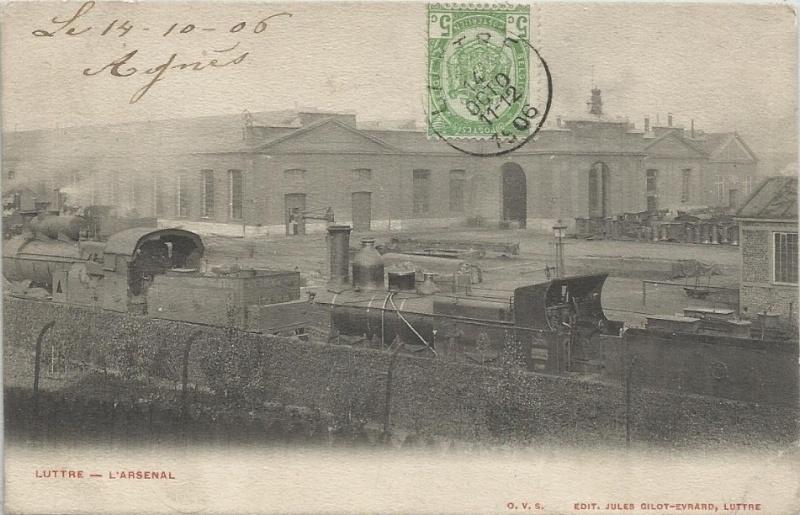 Locomotives-vapeur belges en photo sans précision - Avis aux spécialistes 1906_l10