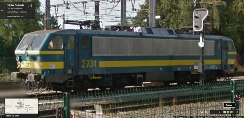 Photos de convois ferroviaires via GoogleStreet. 2731_g10
