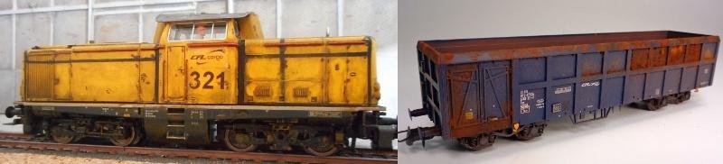 Premier projet aérographe: Wagon tombereau 4 essieux des CFL Franz_10