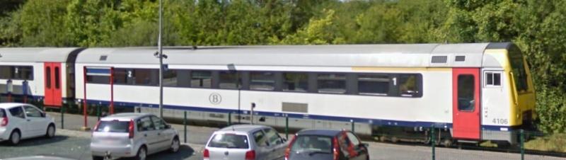 Photos de convois ferroviaires via GoogleStreet. Google46