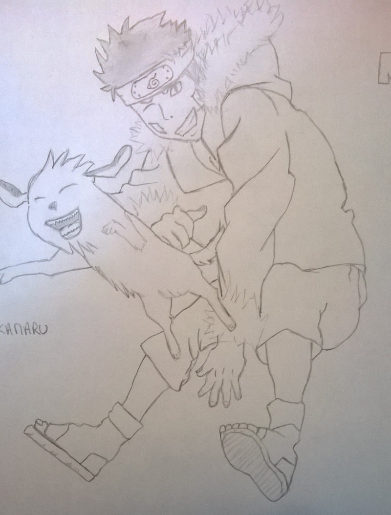 Mes dessins de Naruto. Image17