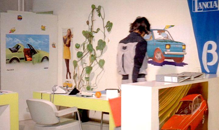 """Garages des années 70 """"hauts en couleurs"""" !!! ( photos, vidéos ) Fiat-116"""