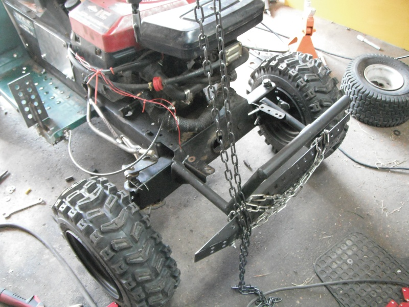 New guy, first Off Road/ Utility tractor build. Dscf4234
