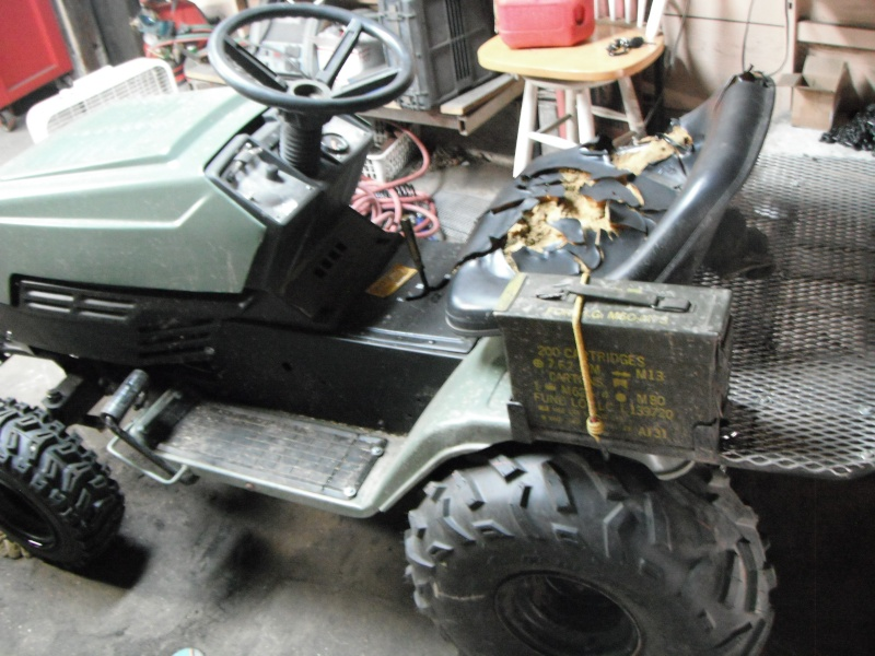New guy, first Off Road/ Utility tractor build. Dscf4316