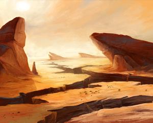 Cormyr - Ambientação Desert11