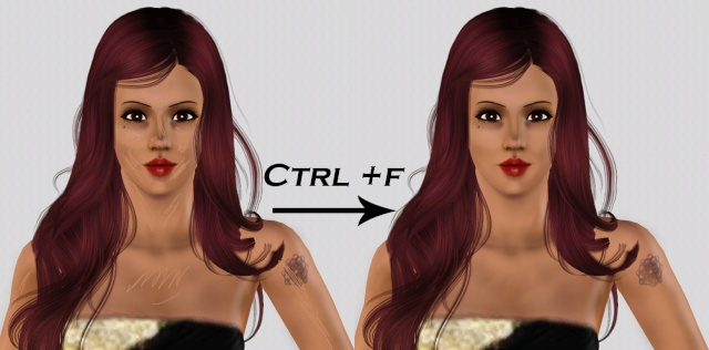 [Débutant] Créer des ombres sur le visage et le corps Image310