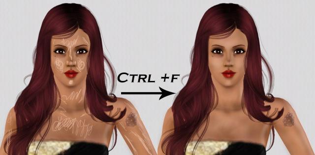 [Débutant] Créer des ombres sur le visage et le corps Image410