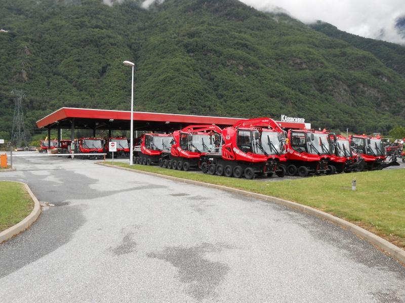 Pistenbully à Tours en Savoie - Kässbohrer ESE Dscn1312