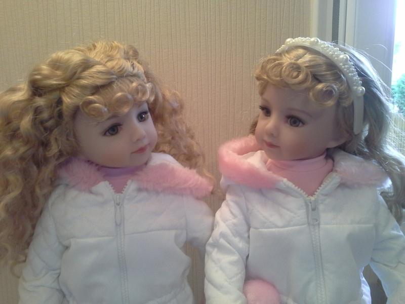 mes petites cheries ( les jumelles jamie et tanya )  20141025