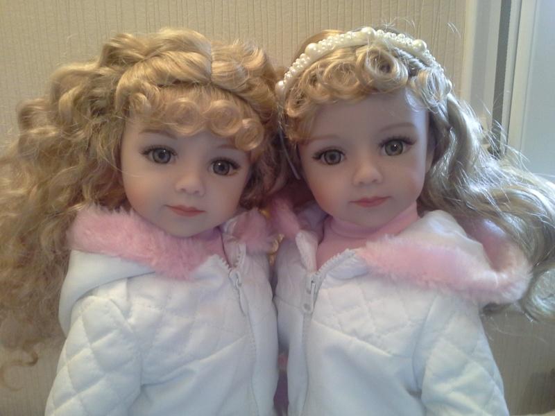 mes petites cheries ( les jumelles jamie et tanya )  20141026