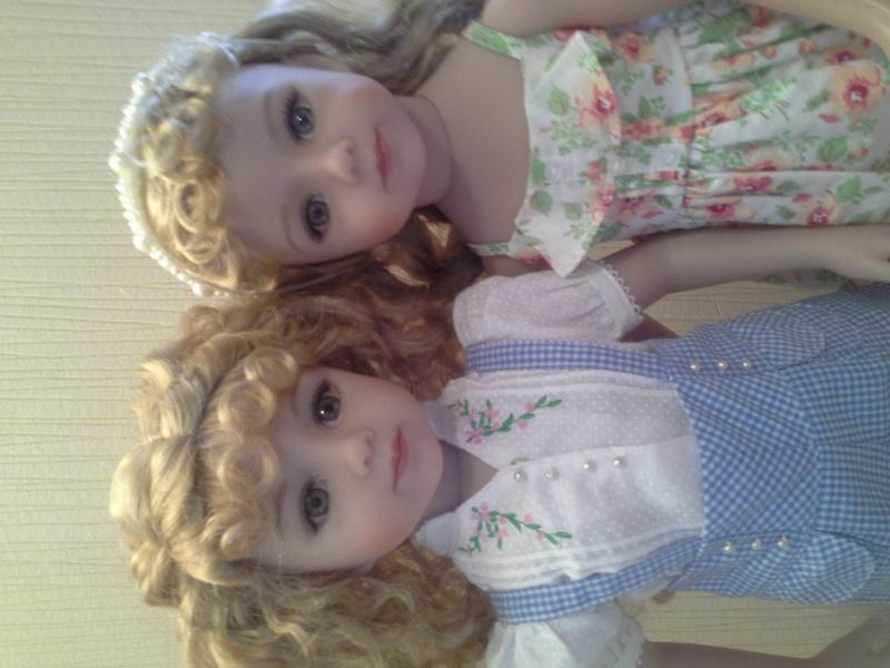mes petites cheries ( les jumelles jamie et tanya )  20141027