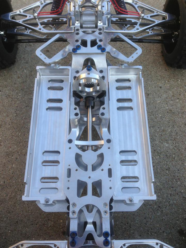 aluminum lipo Trays for G4 chassis 10012610