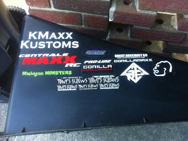 Centralemaxx RC Decals 10313010