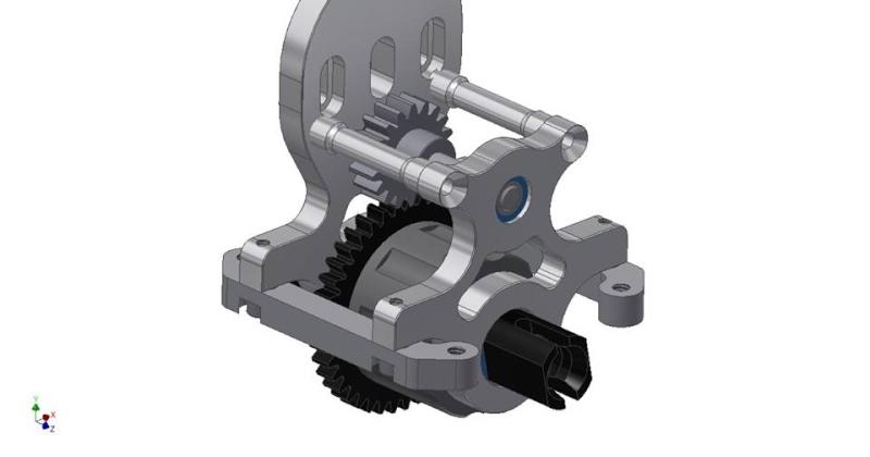 G4 center diff mount 10420110