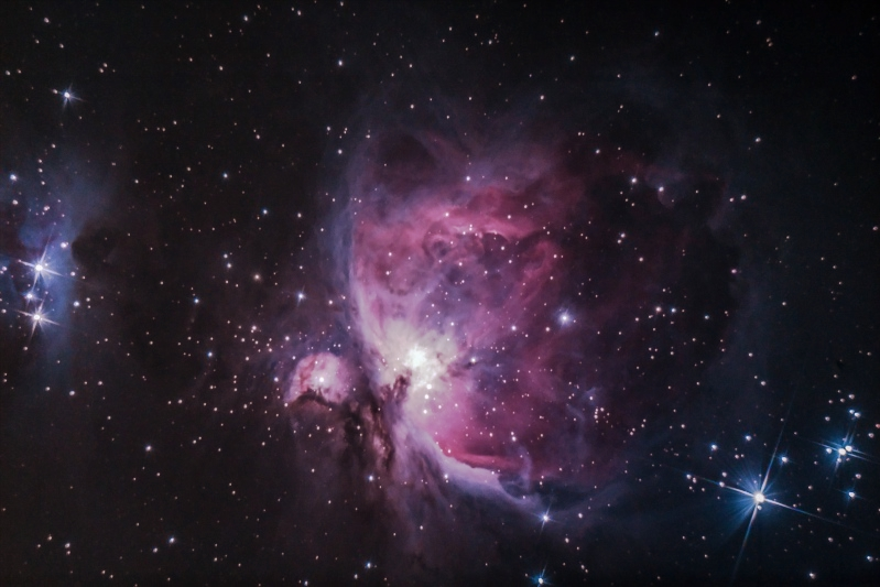 M 42 Grand nébuleuse d'Orion / M 81 et M 82 M4210_10