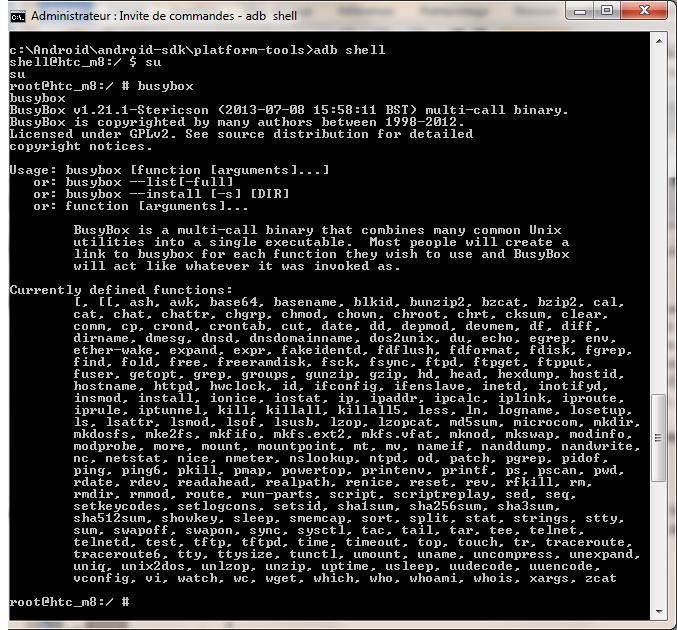 [TUTO] HTC One M8 : Sous KitKat 4.4.2 comment contourner la nouvelle stratégie de sécurité des fichiers sur la carte SD Window10